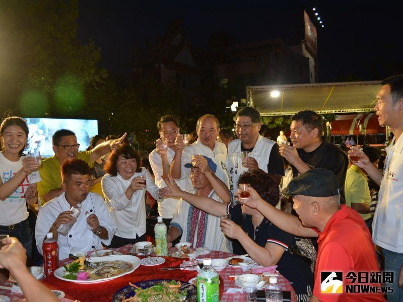 ▲辦桌是南部傳統飲食文化之一。(圖/記者郭政隆攝影2020.6.27)