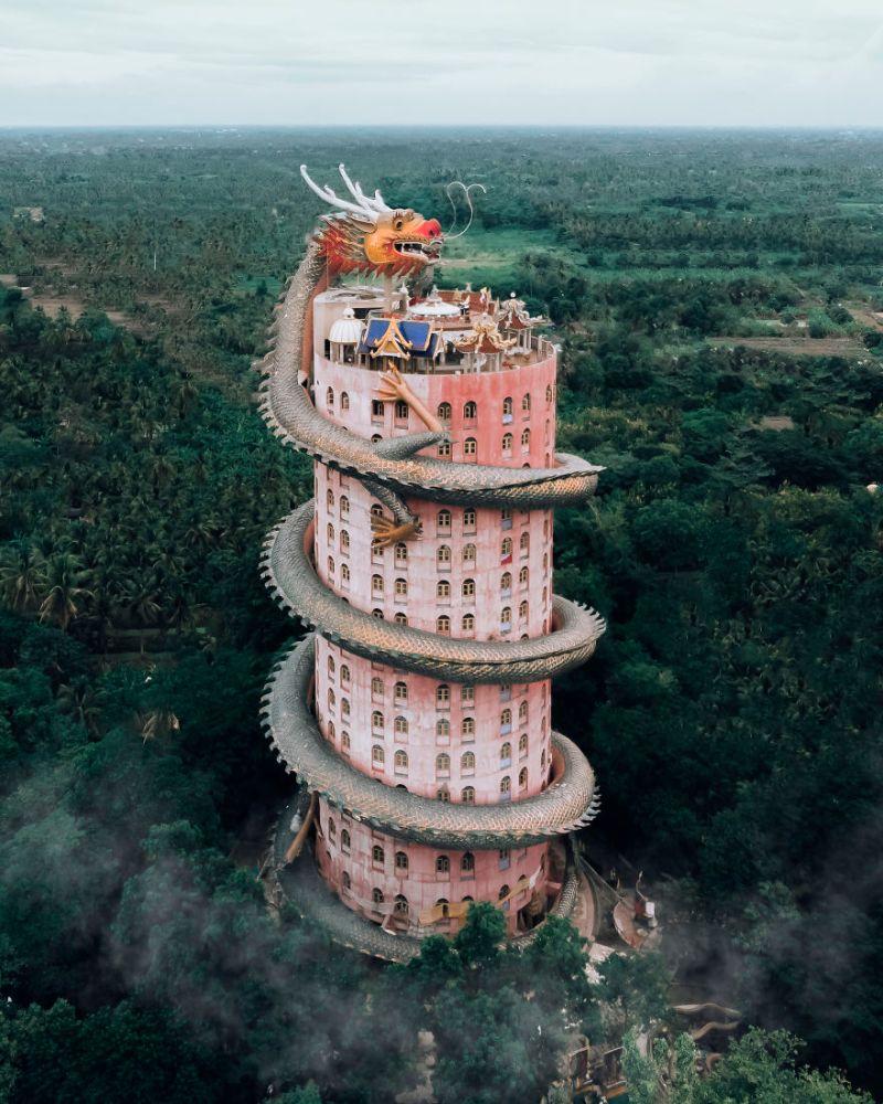 ▲泰國的莊盛龍王宮。(圖/翻攝自