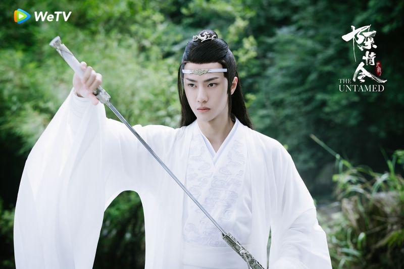 ▲ 王一博在《陳情令》角色個性端莊。(圖 / WeTV提供)