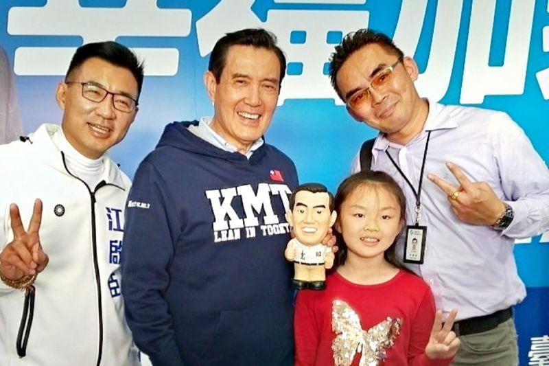 ▲前總統馬英九(左二)、國民黨主席江啟臣(左一)。(圖 / 翻攝馬英九臉書)