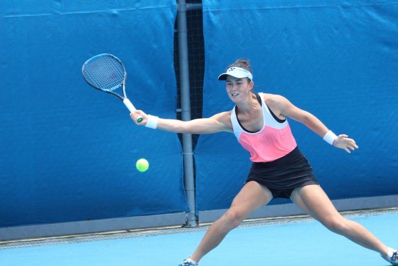 網球/19歲台英混血女將<b>減重</b>有成 把握疫情養傷、練中文