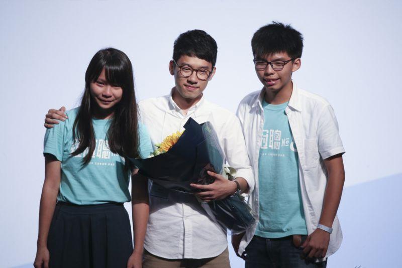 港版國安法逼近!黃之鋒、羅冠聰、周庭宣布退出香港眾志