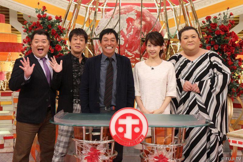 ▲小杉龍一(左起)、吉田敬、明石家秋刀魚,加藤綾子、松子DELUXE。(圖/WAKUWAKU