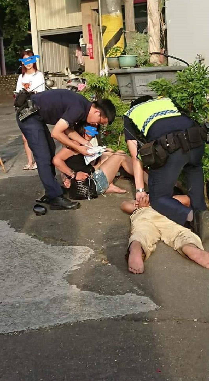 員警追捕逃逸毒販 民眾扮「報馬仔」指路