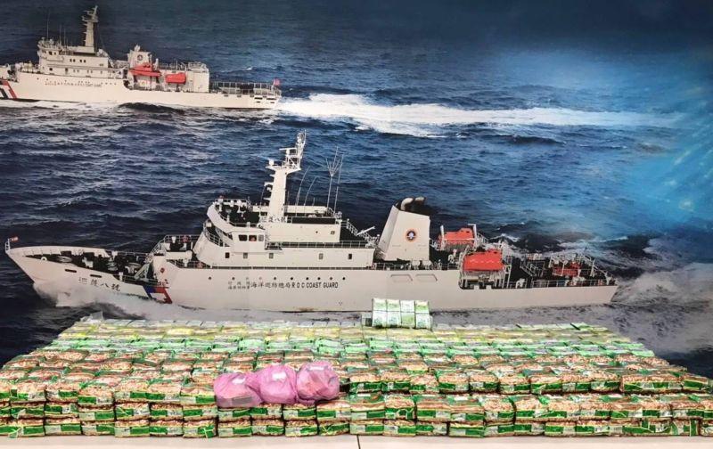 毒船翻覆 海巡向上溯源破獲運毒集團