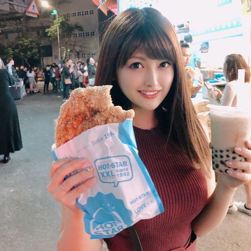 ▲新藤加菜曾來台灣旅遊。(圖/新藤加菜IG)