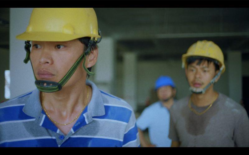 ▲黃鐙輝(左)、孫綻飾演越南移工。(圖