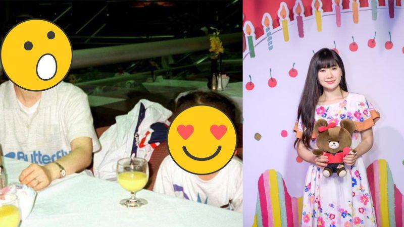 ▲福原愛(右)曬與媽媽24年前合照。(圖/福原愛臉書)