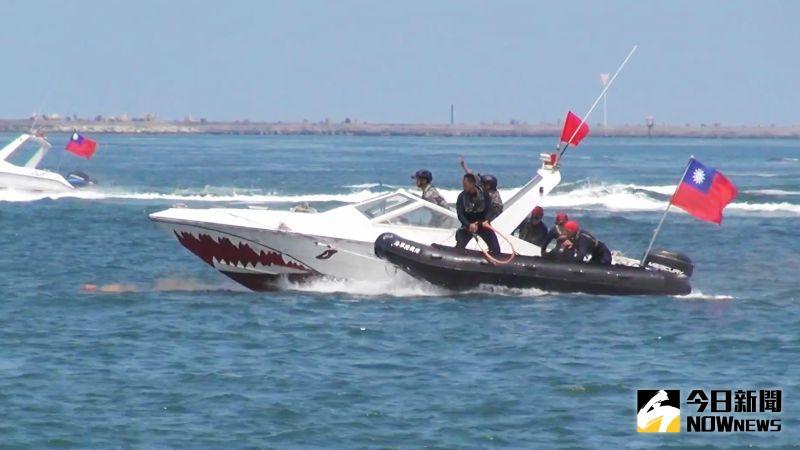 漢光操演重大意外 陸戰隊膠舟翻覆3人裝葉克膜急救