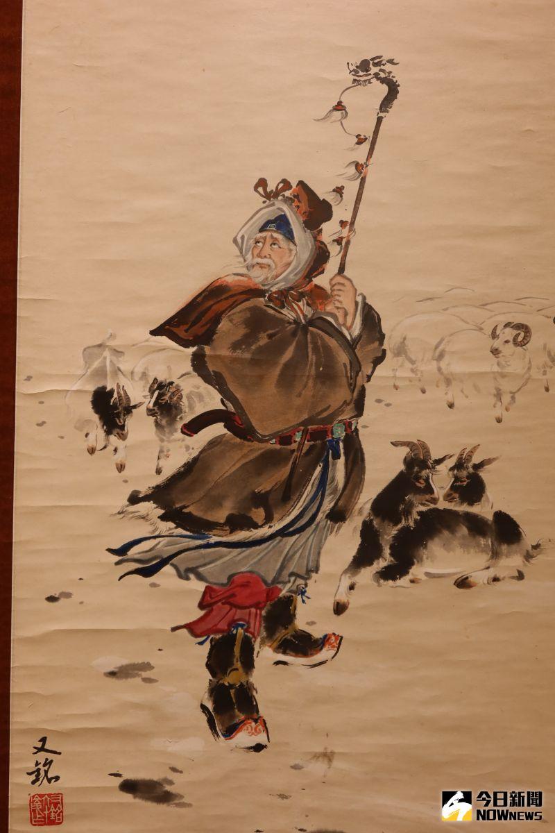▲為了豐富巡迴展出內容,特別邀請當代藝術家參與,並展出歷年典藏名家的作品。(圖/記者陳雅芳攝,2020.07.03)