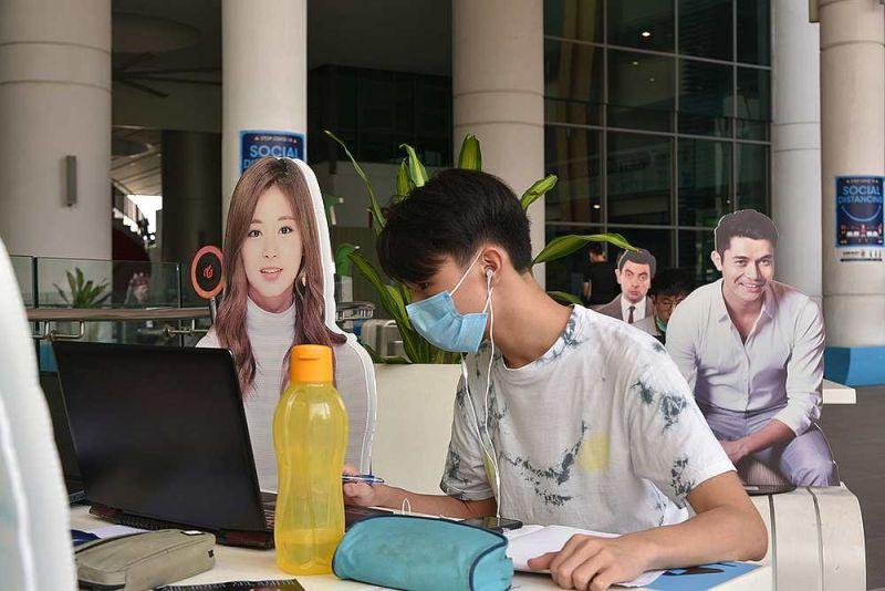 ▲馬來西亞的雙威大學「出奇招」防疫。(圖/翻攝自臉書 Sunway University )