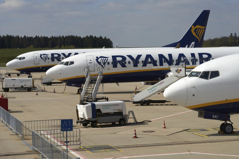 瑞恩航空客機因火警緊急降落<b>希臘</b> 無人受傷