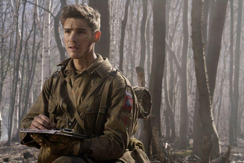 ▲▼布蘭頓思懷茲在片中飾演美國大兵。(圖/采昌)