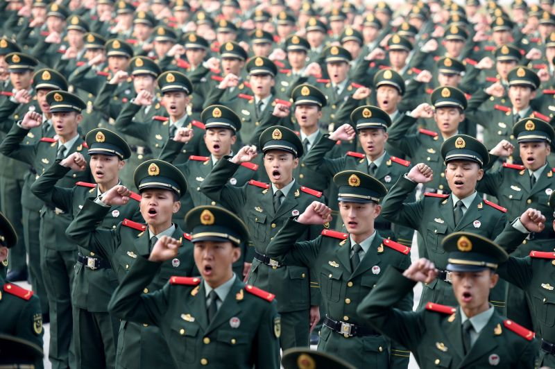 共同社:北京擬派數百武警 觀察員名義常駐香港