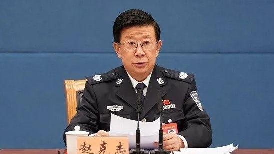 ▲國務委員、公安部黨委書記、公安部長趙克志。(圖/翻攝自香港01)
