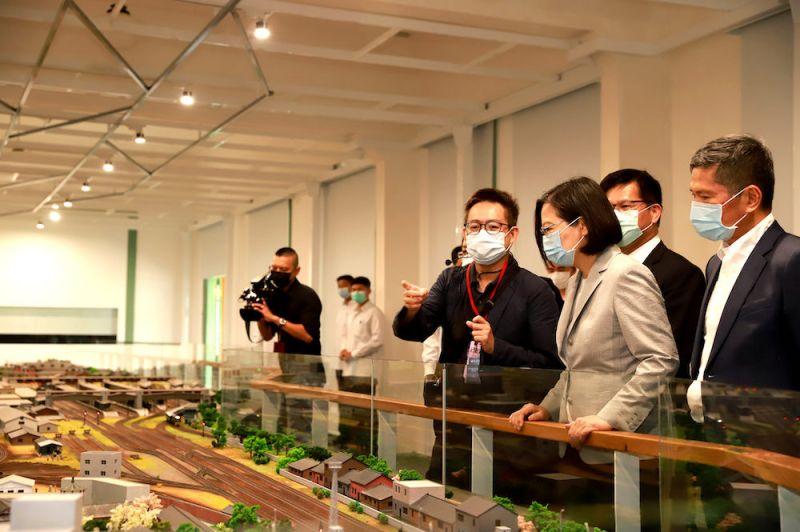 ▲國立台灣博物館鐵道部園區由台灣博物館負責修復與再利用為博物館,將於明(7)日正式對外開放參觀。(圖/文化部提供)