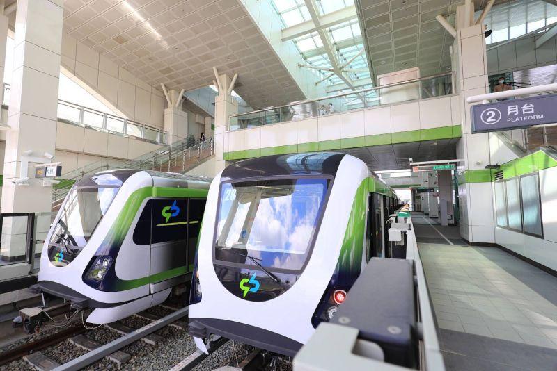 ▲台中捷運綠線完成履勘後,年底就可通車(圖/柳榮俊翻攝2020.7.6)