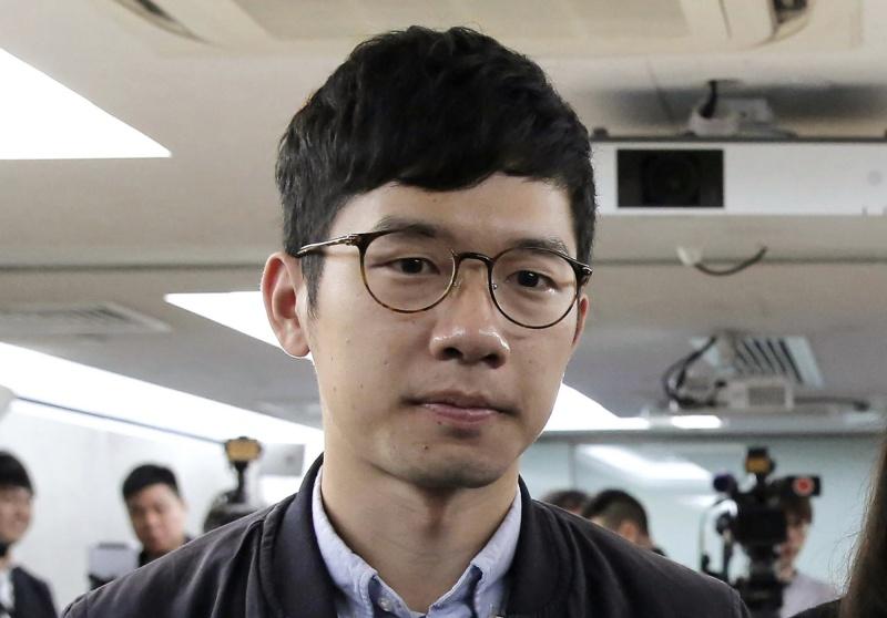 ▲香港眾志前主席羅冠聰。資料照。(圖/美聯社/達志影像)