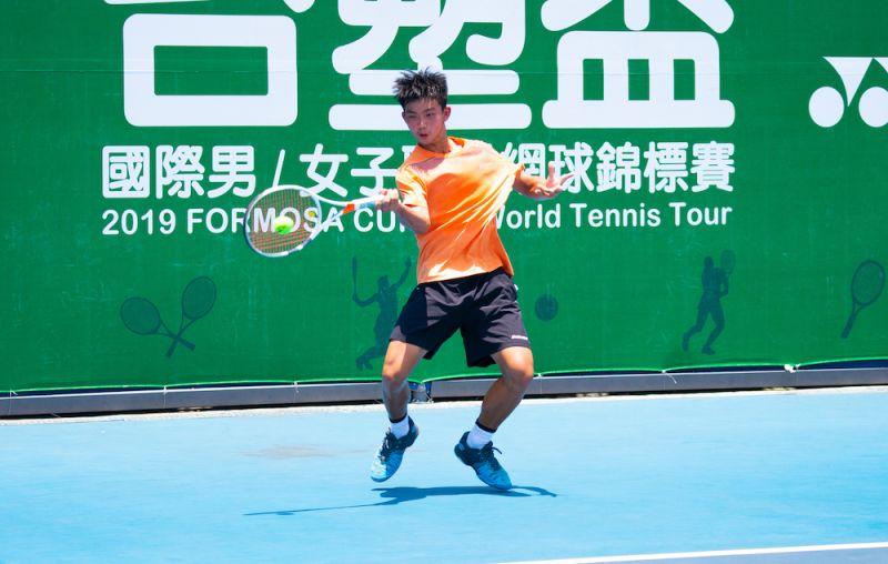 ▲林翰智去年在台塑盃斬獲職業生涯首勝。(圖/海碩整合行銷提供)