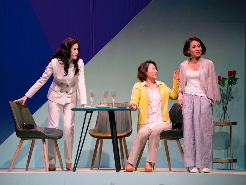 ▲ 《我的大老婆》是金鐘影后許瑋甯出道以來「首度公演」的舞台劇。(圖/果陀劇場提供)