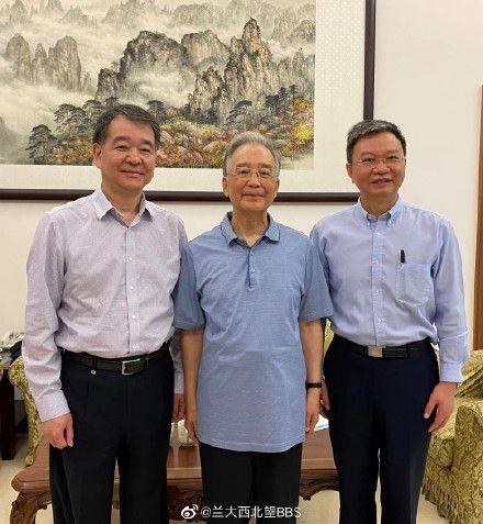 ▲中國前國務院總理溫家寶,也是一位地質學家。(圖/翻攝自蘭州大學微博)