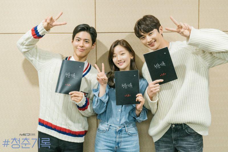 ▲《青春記錄》將於9月播出。(圖/tvN