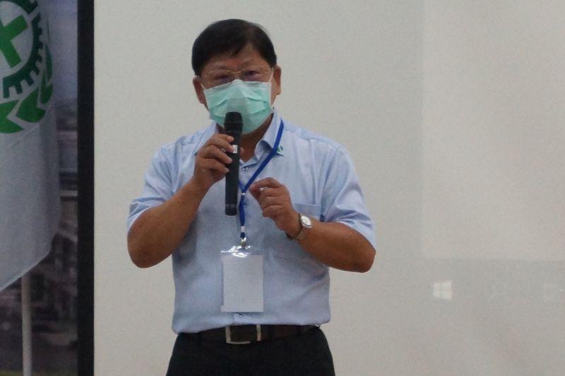 ▲台灣中油石化事業部舉辦安全衛生觀摩研討會活動,由執行長吳義芳主持。(圖/記者黃守作攝,2020.07.07)