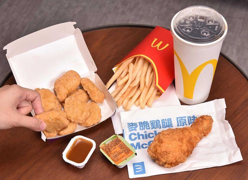 ▲麥當勞今(7)日宣布推出以熱銷的炸雞與雞塊作為搭配的深夜外送餐。(圖/業者提供)