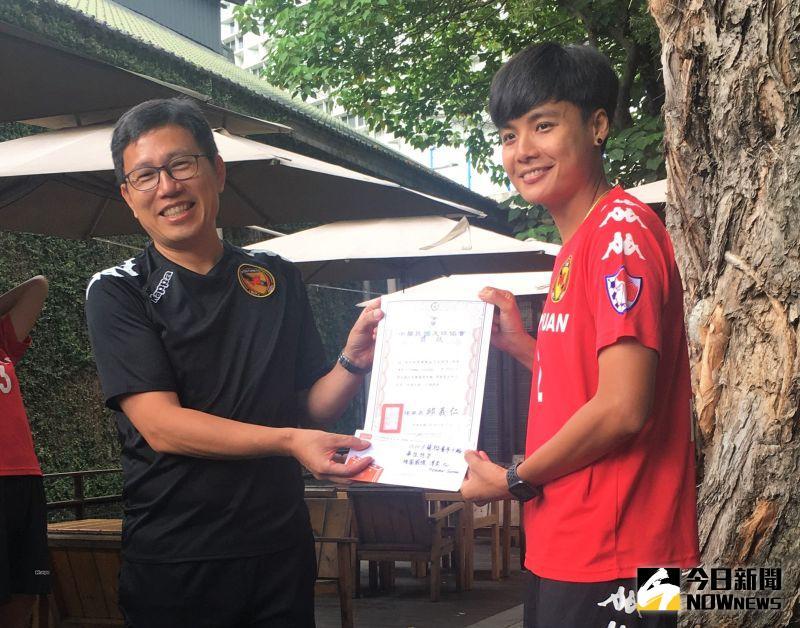 足球/泰國外援首戰即獲單周最佳 潘彥昕:賽前才練2次