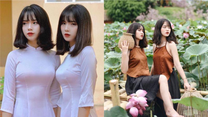 怎麼分誰是誰? 越南千禧年後美女雙胞胎引熱議
