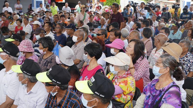 ▲北港地區農民非常踴躍出席座談會。(圖/記者蘇榮泉攝,2020.07.07)