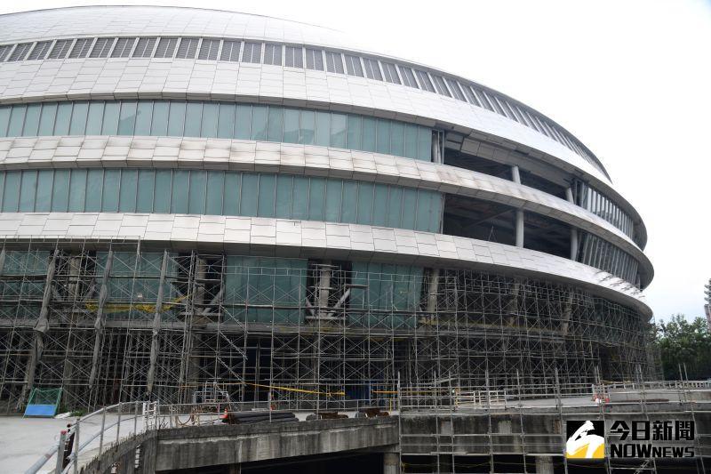▲台北市長柯文哲表示,大巨蛋預計明年完工。(圖/NOWnews資料照片)