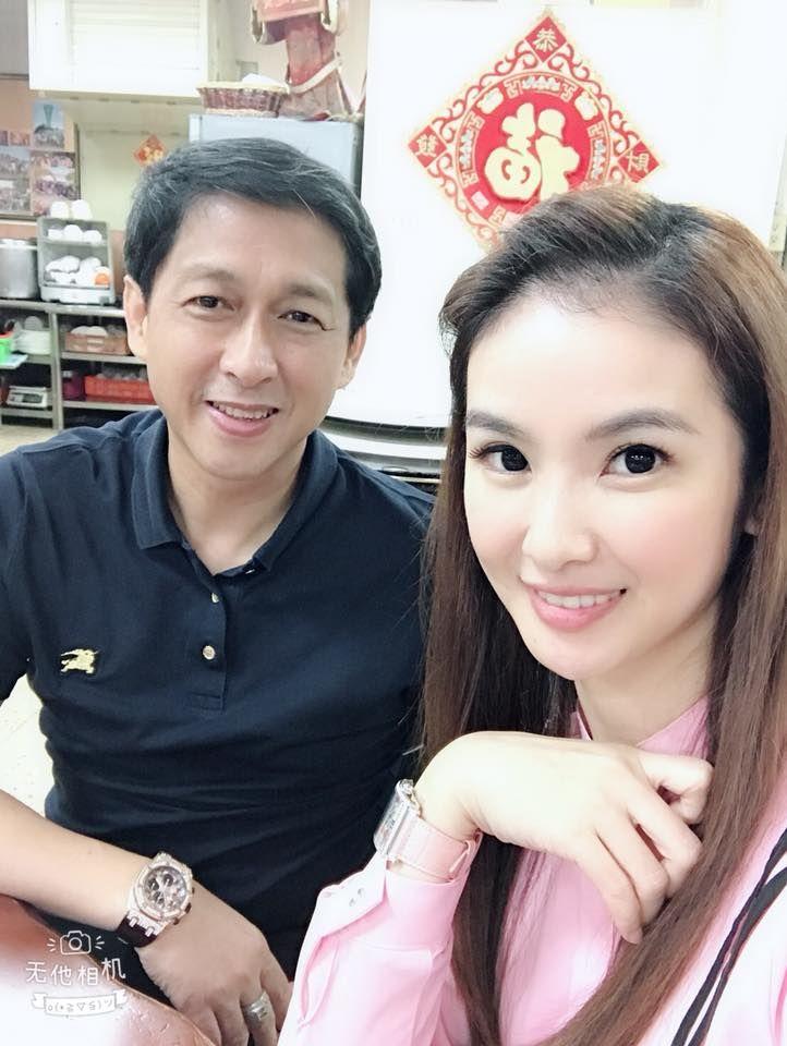 ▲林佐岳(左)與老婆陳小菁。(圖/林佐岳臉書)