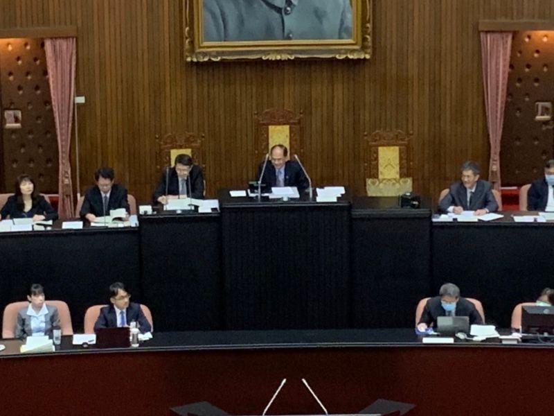 立院行使考試院同意權 問中醫台醫讓游錫堃超尷尬