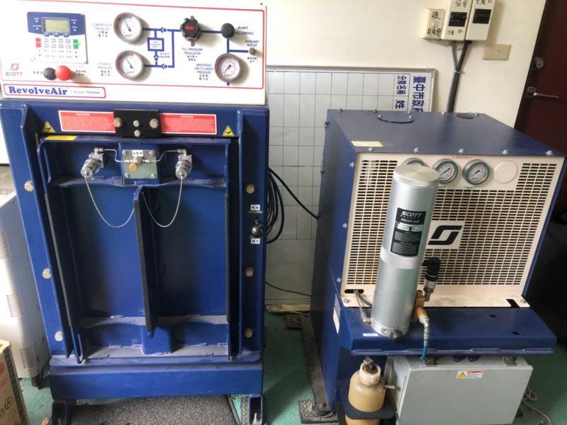 中市消防空氣壓縮灌充機損壞未修 議員批維修怠慢