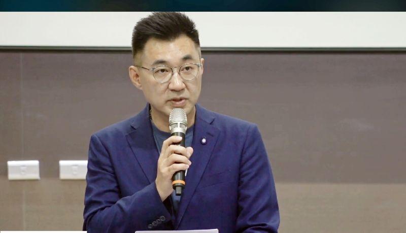 國民黨主席江啟臣出席8日的南投行動中常會。(圖/國民黨提供)