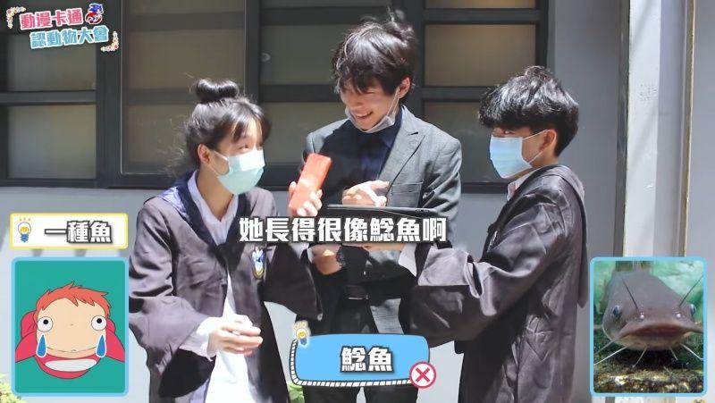 ▲被說像鯰魚,波妞哭哭惹啦~(圖/三個麻瓜授權提供)