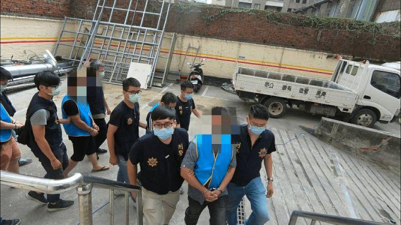 中市警強力掃黑 逮4治平對象及共犯26人