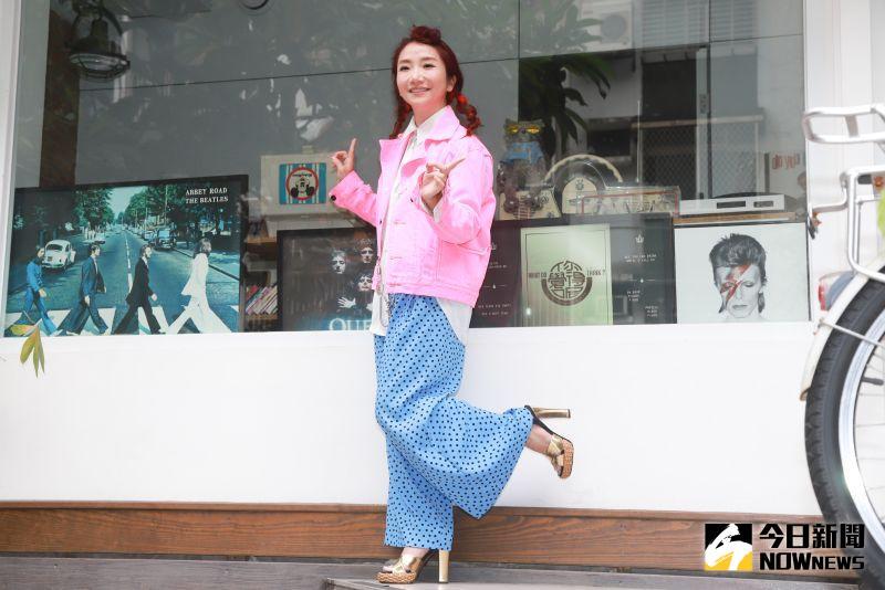 ▲陶晶瑩開新網路節目《陶口秀》。(圖/記者葉政勳攝