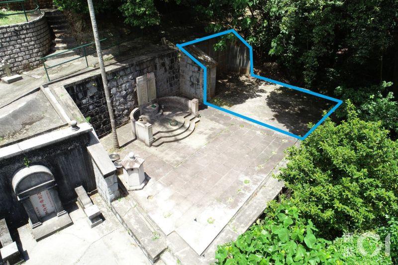 ▲昭遠墓園,何鴻燊父母的墓旁有一塊空地,外界推測何鴻燊可能將葬於此。(圖/翻攝自《香港