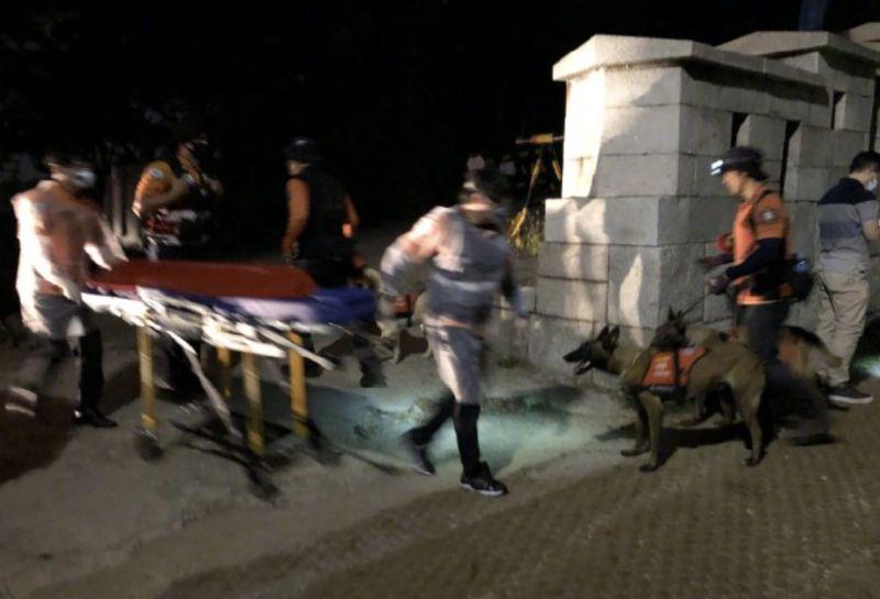 ▲首爾市長朴元淳的遺體在首爾市城北區臥龍公園附近被找到。(圖/翻攝自央視新聞)