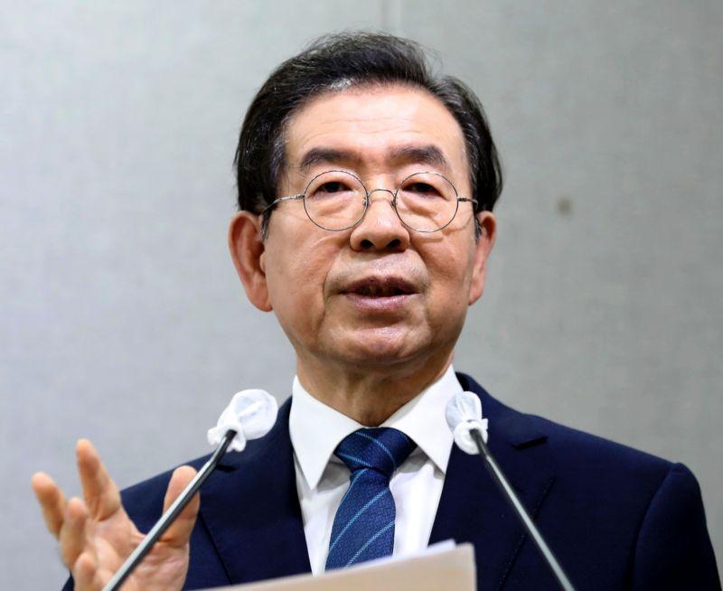 首爾市長捲性騷醜聞身亡 韓媒:不排除因其死亡結案