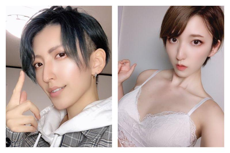 ▲日本推特掀起「穿衣脫衣反差大賽」,引發熱議。(圖/翻攝自@o5o72o的推特)