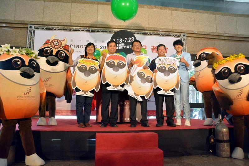全中運7月18日登場 潘孟安邀全國選手民眾作客屏東