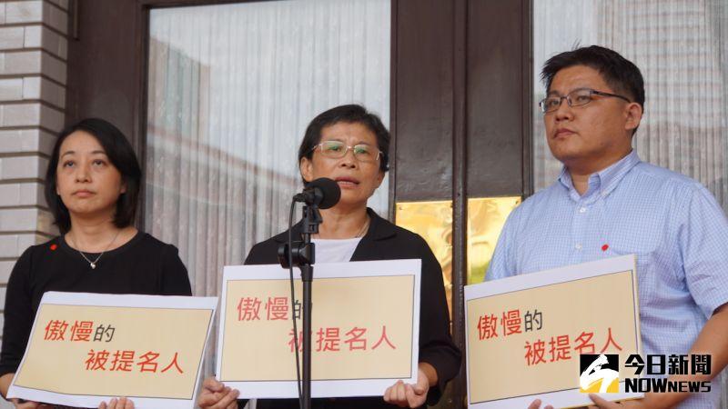 ▲時代力量對NCC現任的兩位委員以及主秘投下反對票。(圖/記者呂炯昌攝.2020.07.10)