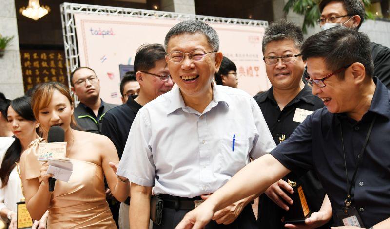 台北市長柯文哲。(圖/記者林調遜攝)