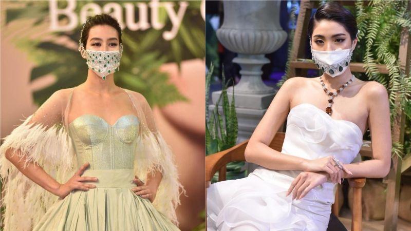 泰國「鑽石口罩」亮相 價格曝光眾驚