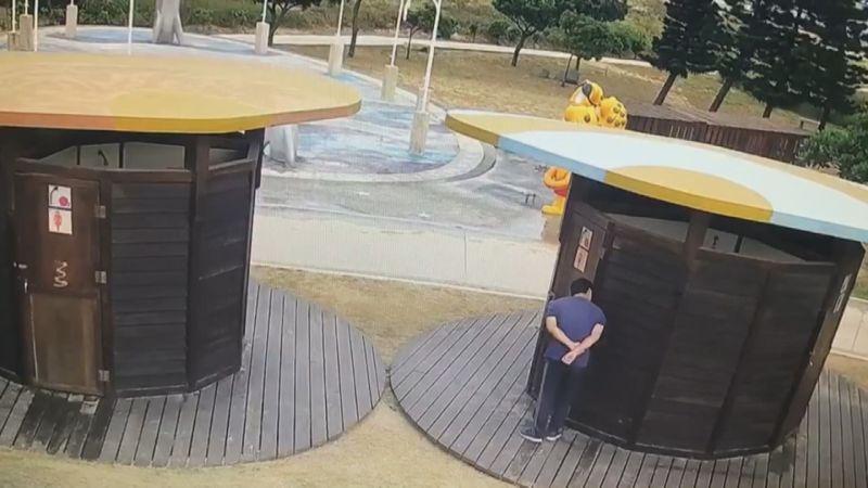 金門戲水勝地后湖海濱公園驚傳偷窺狂