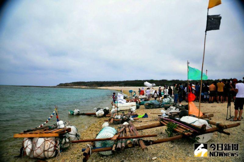 干擾綠蠵龜!馬市所「海廢造筏」恐破壞嵵裡棲地