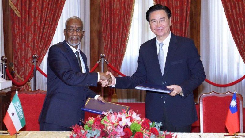 吳釗燮代表台灣與索馬利蘭互設代表處